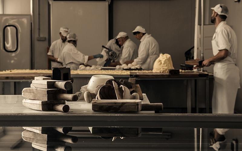 Lavorazione burro airasca