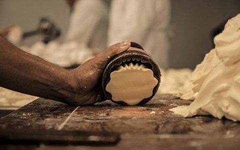 Lavorazione di burro artigianale Piemonte