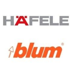 accessori per mobili, Hafele, Blum