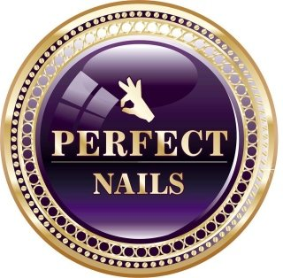 logo perfect nails