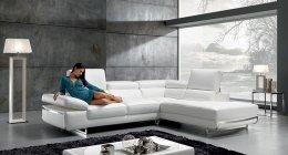 saccone salotti, palermo divano pelle