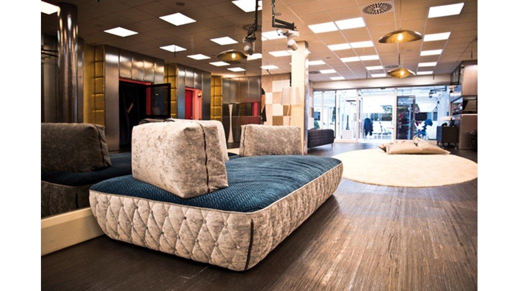 Rivenditore di divani di design campobasso macrellino for Le mura arredamenti
