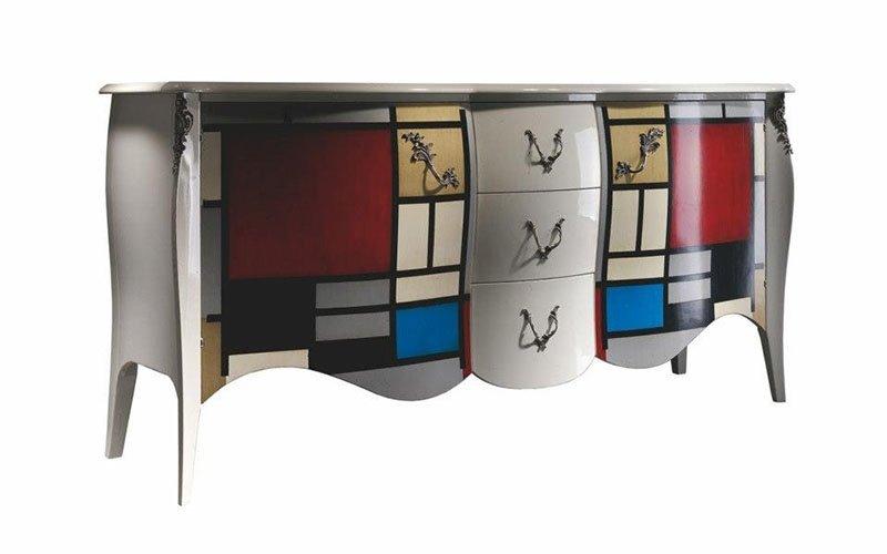 macrellino mobili legno massello