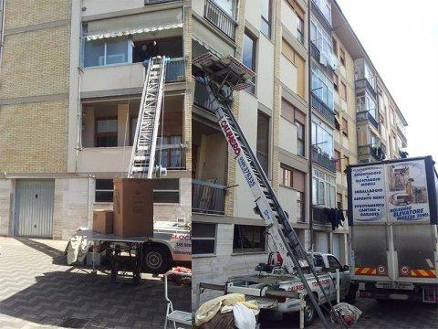 Trasloco di appartamenti ai piani alti