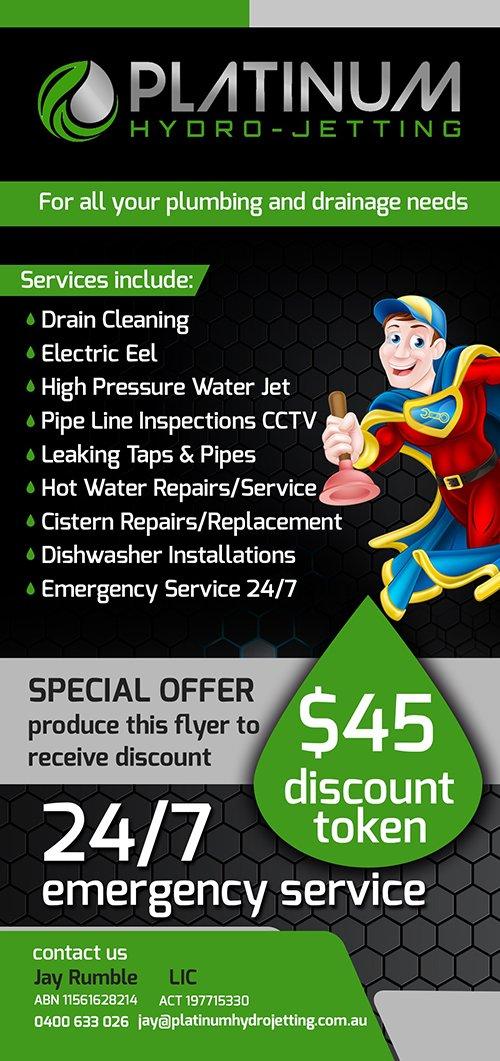 Plumbing repair and maintenance service