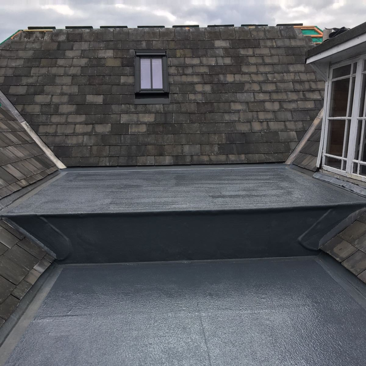 GRP roof