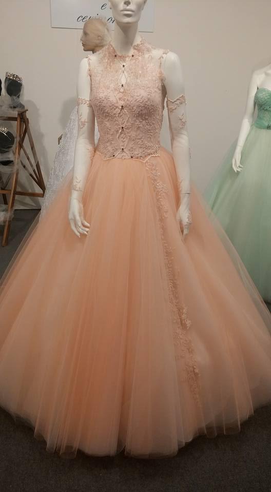 abito da sposa arancia
