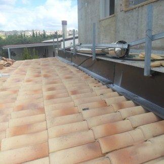 realizzazione di coperture e tetti in lamiera