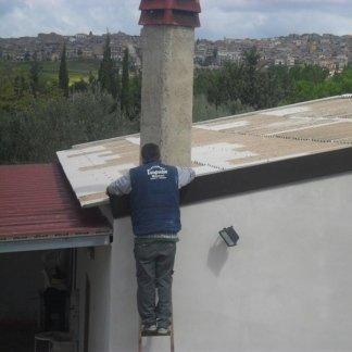 riparazione di coperture e tetti