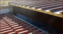 sostituzione e progettazione scossaline e pluviali