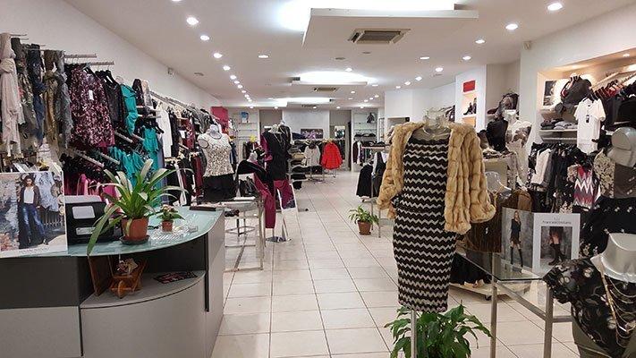 negozio di abiti da donna