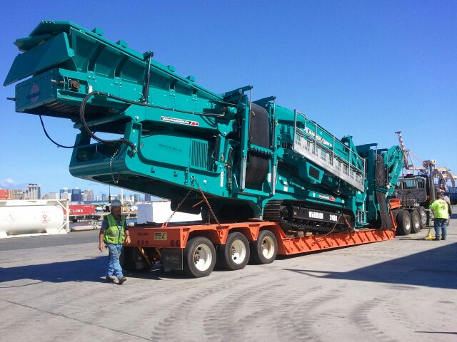 We have an extensive selection of heavy equipment hauling services on the island of Oahu