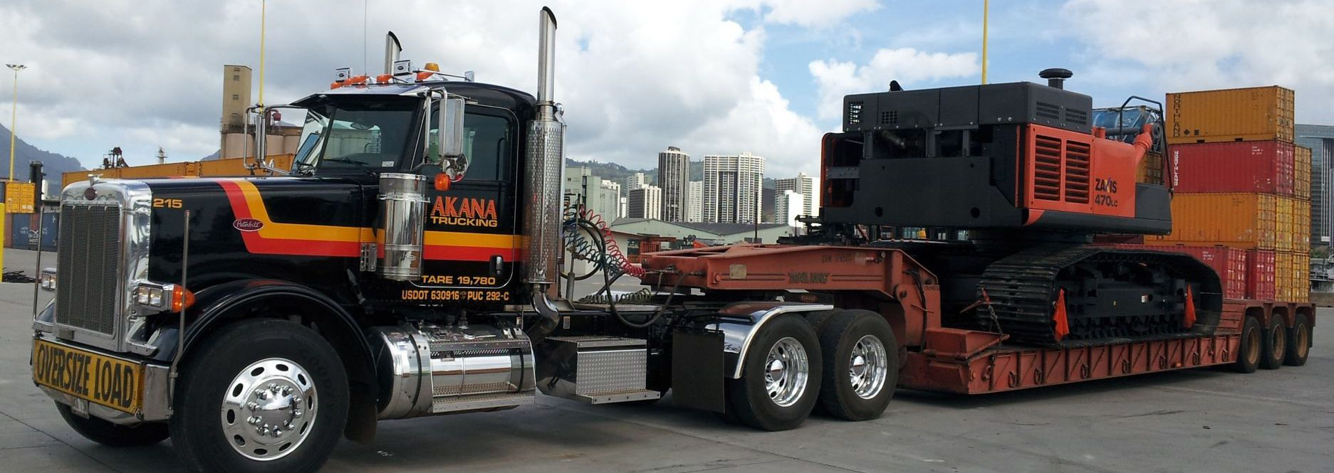 Akana Trucking hauling services in Honolulu, HI