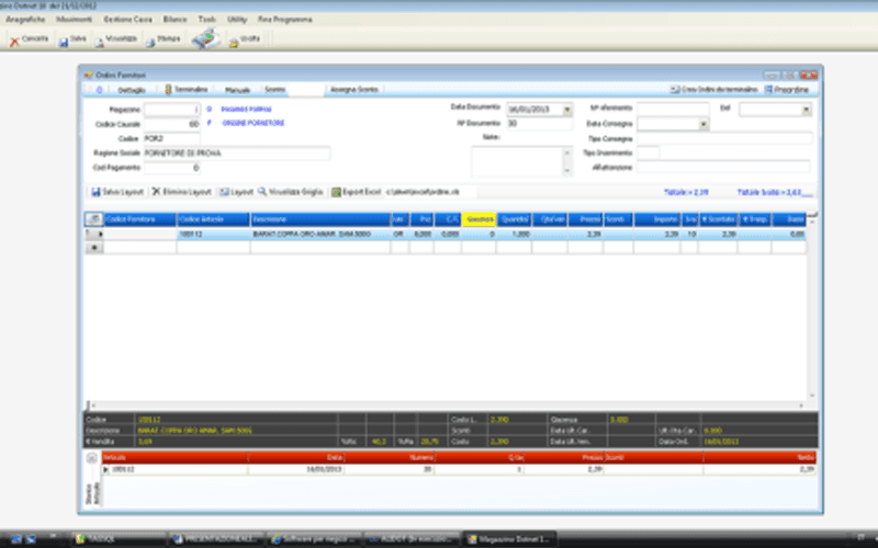 Software gestionale per negozi