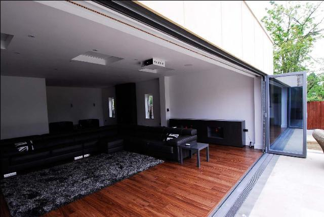 Inside a new home