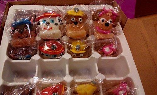 dolcetti a forma di orsetto