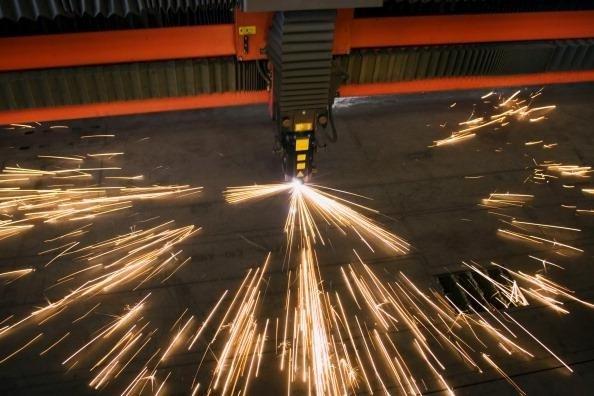 taglio metalli a laser