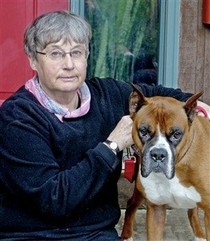 judy-and-boxer-dog-woman-creates-boxer-dog-art