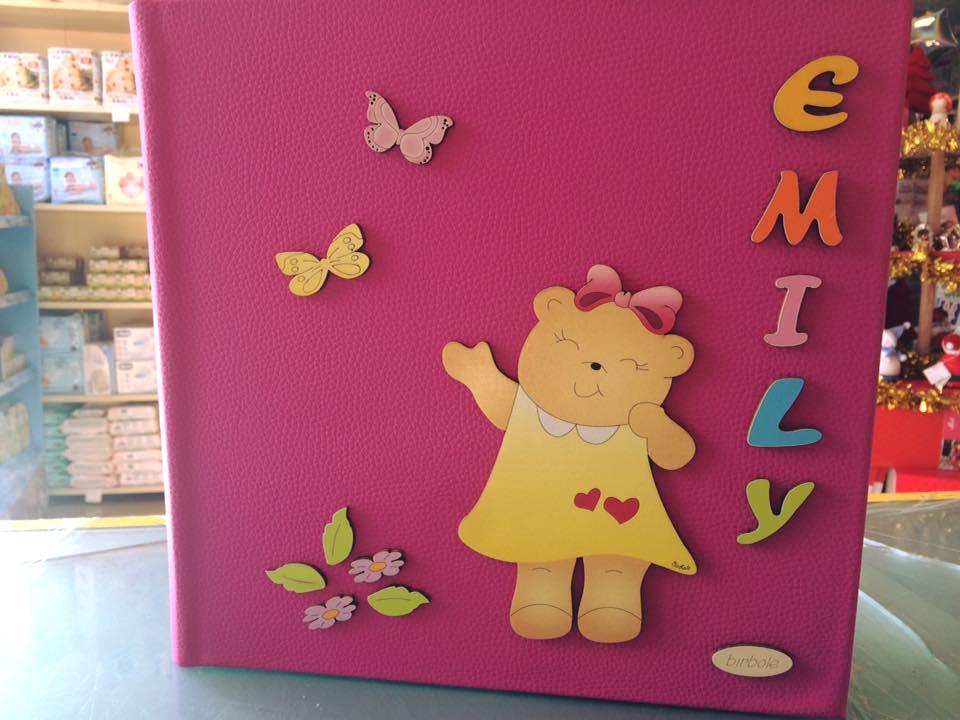 Album fotografico per bambini nome Emily