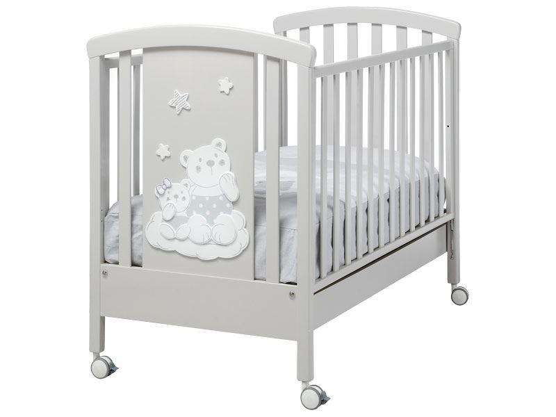 Lettino per neonati grigio chiaro