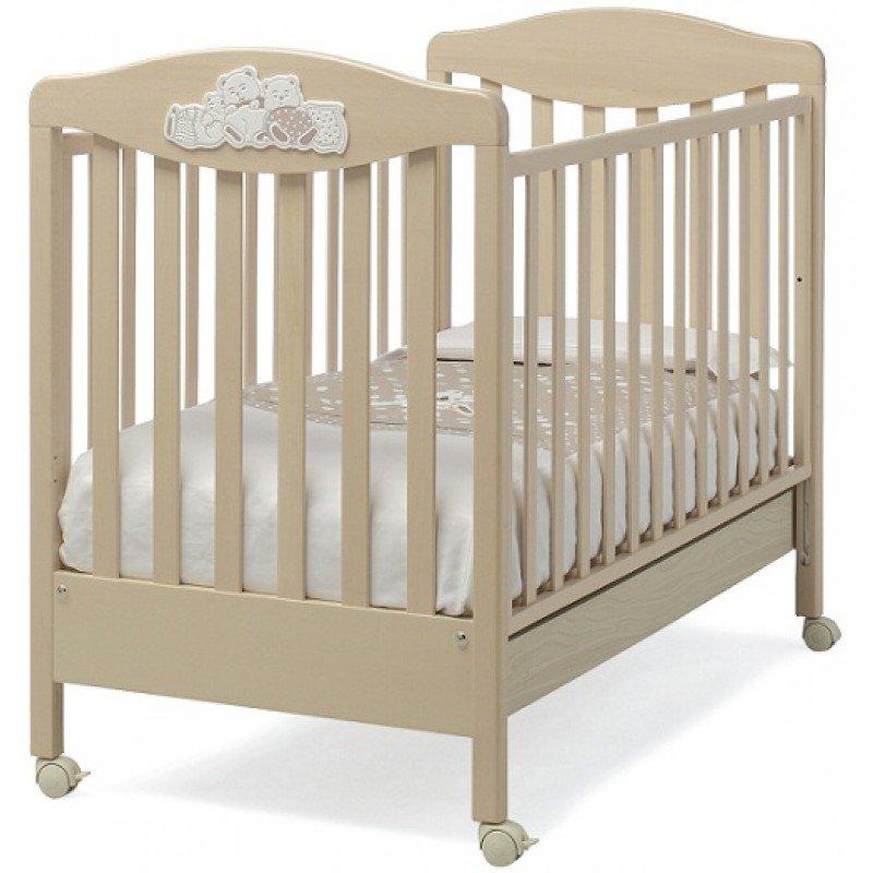 Lettino per neonati in legno