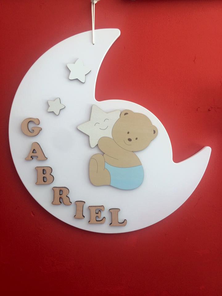 Pendaglio per bambini nome Gabriel