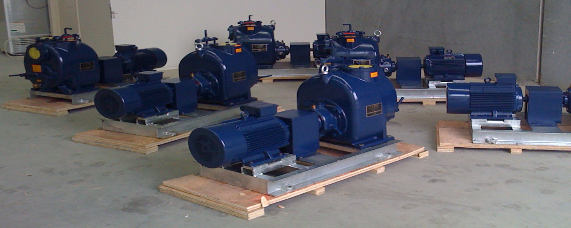 View of wide range of pump system