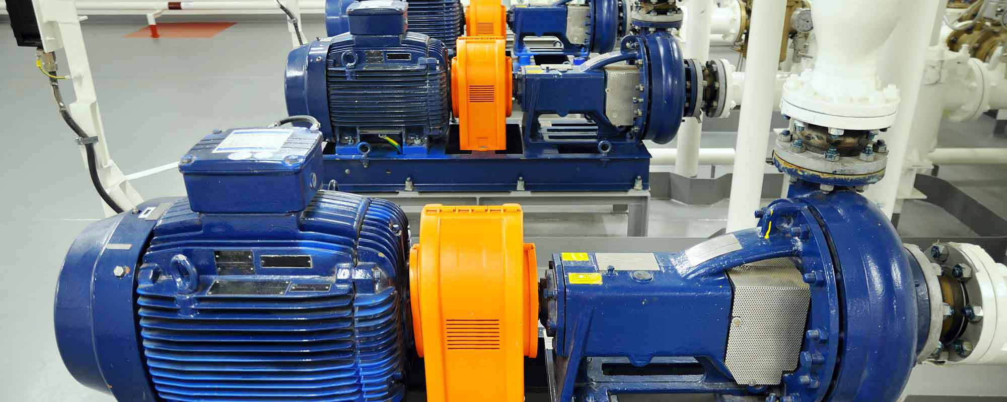 Heavy industrial pumps provided by WAPSA