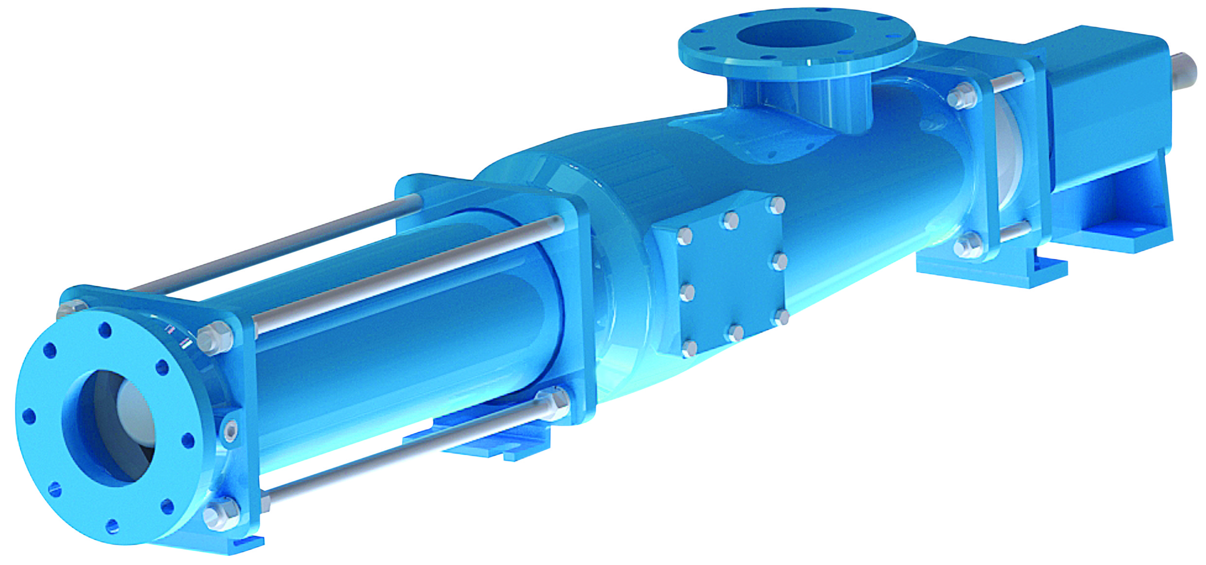 A progressive cavity pump