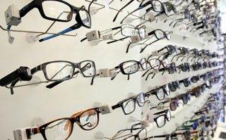 occhiali in quindici minuti