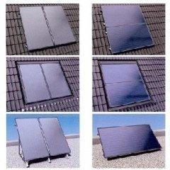 Collettori solari verticali