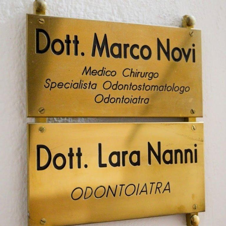 Dottor Marco Novi e Dottor Lara Nanni