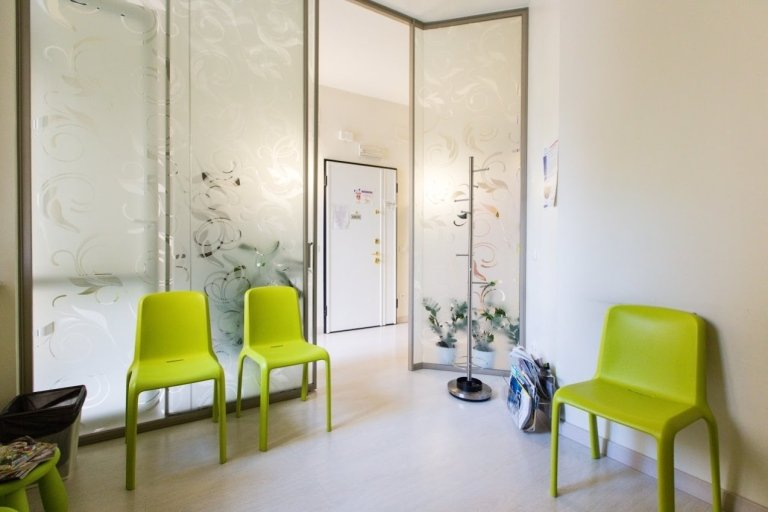 Sala attesa Studio Dottor Novi