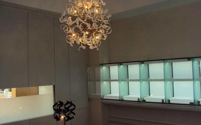 Iluminazione a led per attività comerciale