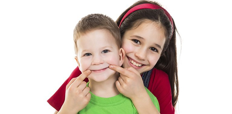 Kids that have had cosmetic dentistry help in South Bunbury