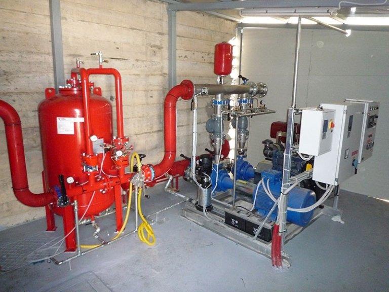 Riparazione e manutenzione impianti antincendio elisuperfici