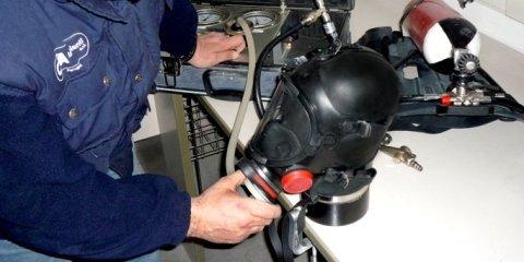 Servizio di manutenzione autorespiratori