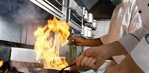 sistemi antincendio cucine ristoranti