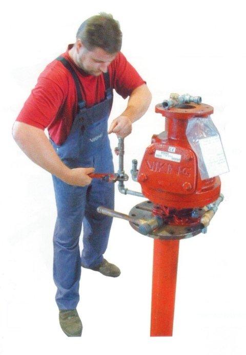 manutenzione sprinkler