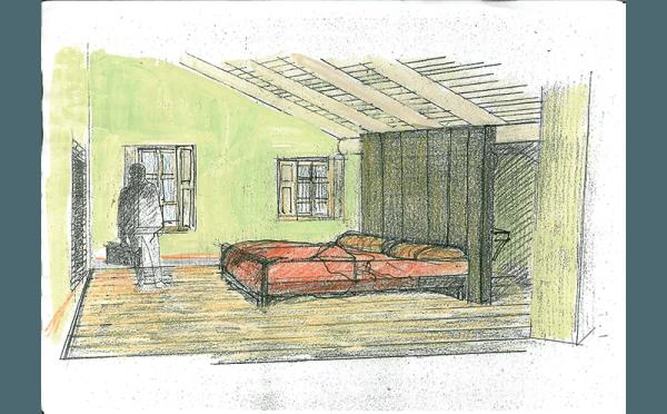 bozza camera da letto