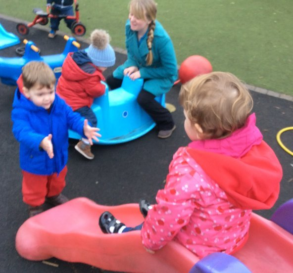Young child at Casterton Childcare Centre in Stamford