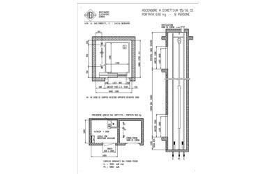 progettazione ascensore
