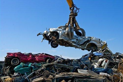 Auto in demolizione