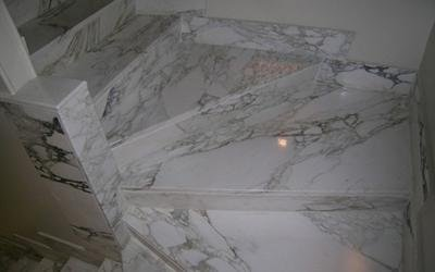 Scale e gradini in marmo