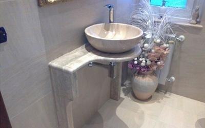 Top in marmo per bagno - Genova - G.M.I. Marmi