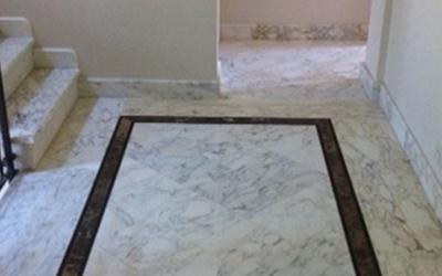 Decorazioni in marmo