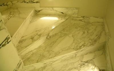 Scalini in marmo