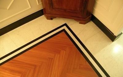 Piastrelle in marmo per pavimenti
