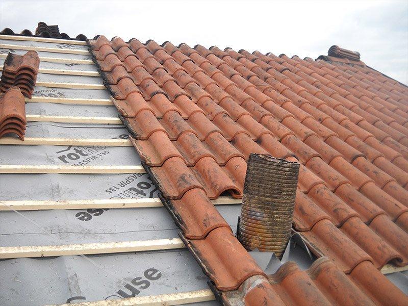 costruzione di tetto