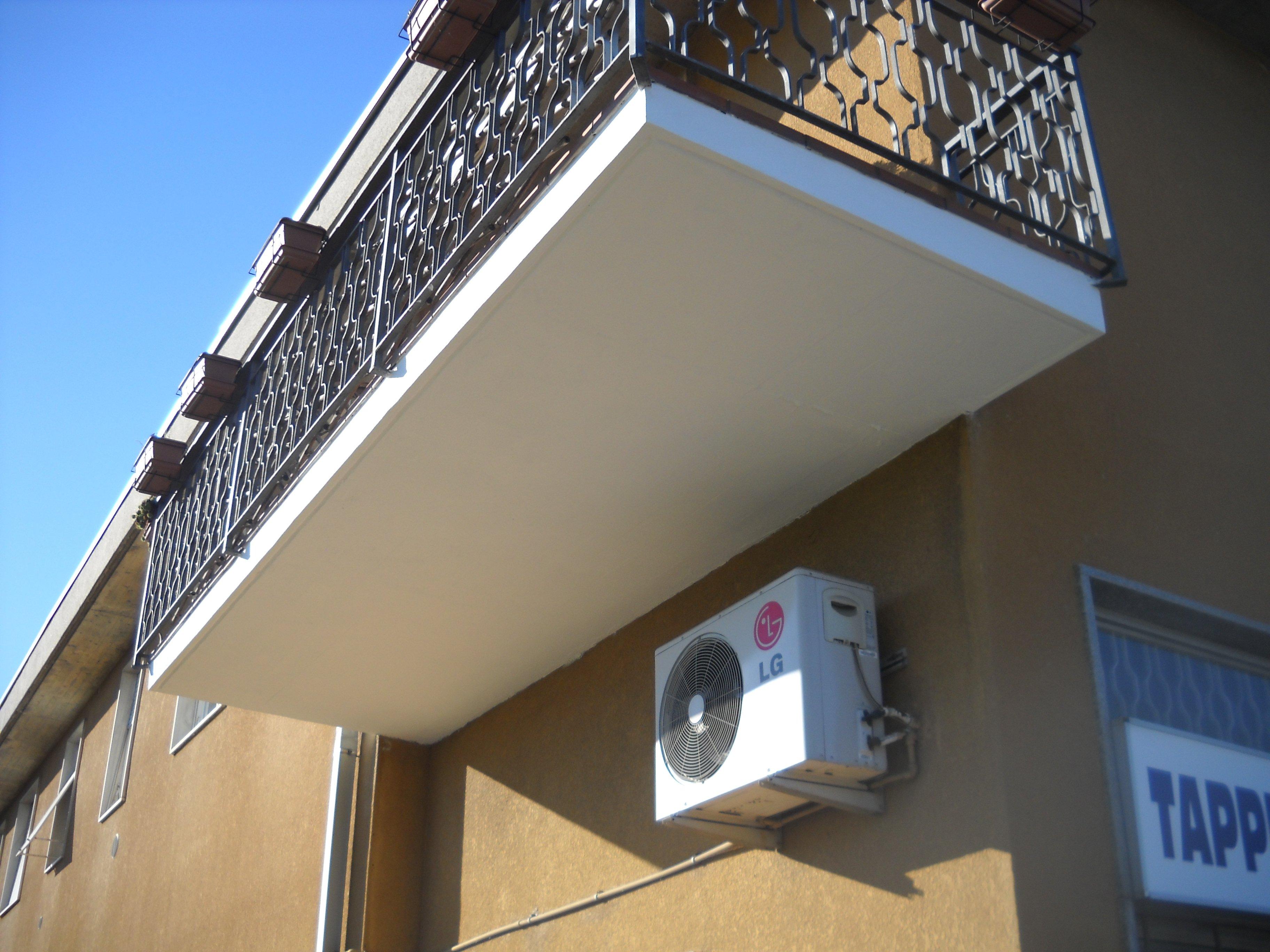 Balcone ristrutturato